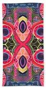 Once Upon A Time 2 - The Joy Of Design Xlll Arrangement Beach Towel
