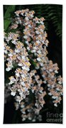 Oncidium Twinkle Fragrance Fantasy Beach Towel