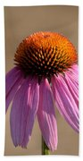 One Coneflower Beach Towel