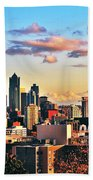 One Fine Skyline Beach Towel