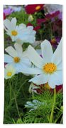 One Flower Stands Out Beach Towel