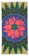 One Gold Bindu Beach Towel