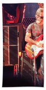 One Of The Greatest Guitar Player Ever Beach Towel