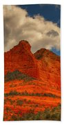 One Sedona Sunset Beach Towel