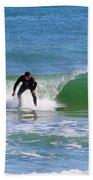One Surfer Beach Towel