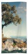 One Tree Island Beach Towel