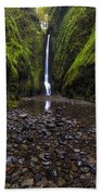Oneonta Falls 2 Beach Towel