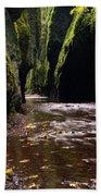 Onieata Gorge Beach Towel