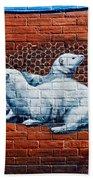Ontario Heritage Mural 3 Beach Towel