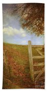 Open Country Gate Beach Towel