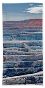Open Pit Gold Beach Towel