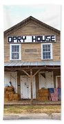 Opry House - Square Beach Towel