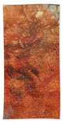 Orange Crush Beach Towel