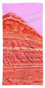 Orange Slice Mountain Beach Towel