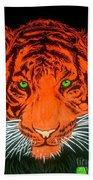 Orange Tiger Beach Sheet