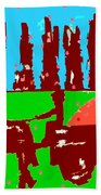 Orchard 2 Beach Towel by Patrick J Murphy