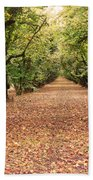 Orchard In The Morning Beach Towel