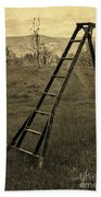 Orchard Ladder Beach Towel