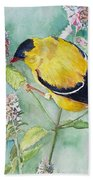 Orchard Oriole Beach Towel