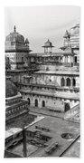 Orchha's Palace - India Beach Towel