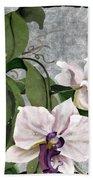 Orchid A - Phalaenopsis Beach Towel