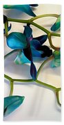 Orchid Bouquet Beach Towel