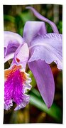 Orchid Life Beach Towel