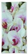 Orchid Sea Beach Towel