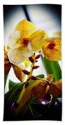 Orchid Vignette Beach Towel