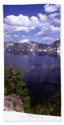 Oregon Crater Lake  Beach Towel
