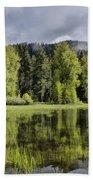 Oregon Lake Beach Towel