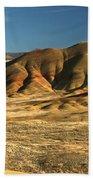 Oregon Painted Landscape Beach Towel