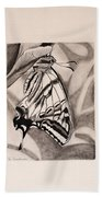 Oregon Swallowtail Butterfly  Beach Towel