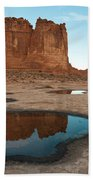 Organ Formation, Arches National Park Beach Towel