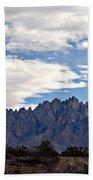 Organ Mountain Landscape Beach Towel