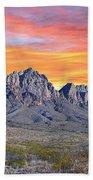 Organ Mountain Sunrise Most Viewed  Beach Towel