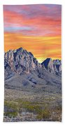 Organ Mountain Sunrise Most Viewed  Beach Sheet
