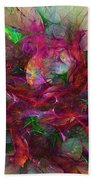Orgy Of Colors Beach Towel