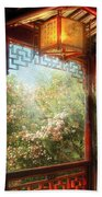 Orient - Lamp - Simply Chinese Beach Towel