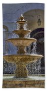 Ormond Water Fountain Beach Towel