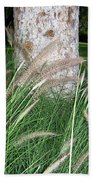 Ornamental Grass Beach Towel