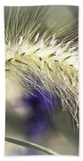Ornamental Sweet Grass Beach Towel