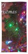 Ornaments-2090-merrychristmas Beach Towel