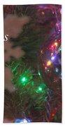 Ornaments-2096-merrychristmas Beach Towel