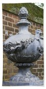 Ornate Garden Urn Beach Towel