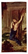 Orpheus At The Tomb Of Eurydice Beach Towel