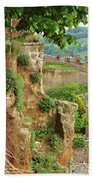 Orvieto Battlement Beach Towel