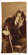 Oscar Wilde 1882 Beach Towel