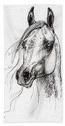 Ostragon Polish Arabian Horse 3 Beach Towel