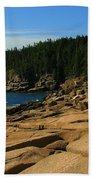 Otter Cliff Beach Towel